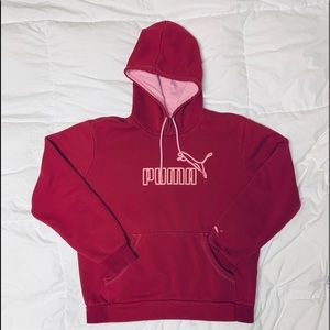 PUMA Hooded Sweat shirt size Med